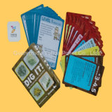 Blue Core Paper Cartes à jeux Cartes à cartes de haute qualité