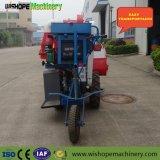 4LZ-0.7 buena función de la pequeña cosechadora de trigo arroz