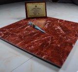 Tegel van de Vloer van het Porselein van de rode Kleur de Volledige Verglaasde Ceramische, de Tegel van de Steen (800*800mm)