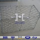 60*80 2.0mm Boîte de gabions hexagonal galvanisé