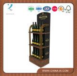 Подгонянный коммерчески шкаф вина металла для магазина вина
