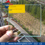 Vidro de flutuação laminado de segurança transparente de 6.38mm com AS / NZS2208: 1996