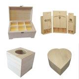 Деревянная коробка для вина & хранения & подарка