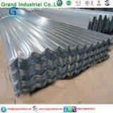 Тип толь плитки Африки популярный металла рифленого листа оцинкованной стали используемый для Юоме Депот