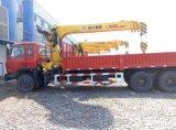 6X4 Kraan Opgezette Vrachtwagen HOWO met Rechte /Foldable Kraan