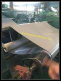灰色カラースムーズな表面17000 Vの絶縁体のゴム製床シートのマット