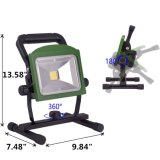 20W 1500lm再充電可能で取り外し可能な300lm懐中電燈が付いている携帯用LED作業ライト