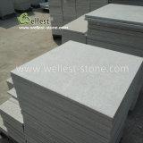 壁のクラッディングの床の敷物のための美しいスリップ防止白い珪岩のタイル