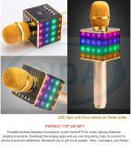 무선 소형 마이크 KTV Q9 Karaoke 입체 음향 선수 Bluetooth 소형 콘덴서 마이크를 위한 개인적인 KTV