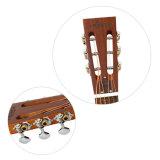 Aiersiハワイの木パターン金属真鍮O様式の共鳴器のギター