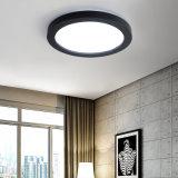 Mando a distancia moderna iluminación de techo LED redonda