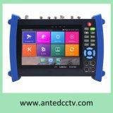 7-дюймовый Многофункциональный тестер для CCTV для сети IP, HD, Tvi Cvi, Sdi, Ahd Проверка камеры