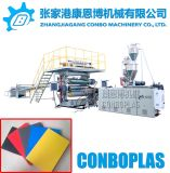 Machine de l'extrudeuse en plastique PVC la plaque de mousse d'administration de l'extrudeuse