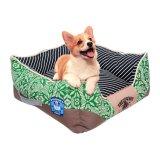 Mat van de Hond van de Kennel van het Huisdier van het Huis van het Kussen van de Huisdieren van de Jacquard van het Puppy van Teddy de Hoogwaardige Zachte Warme