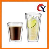 Verre tasse tasse de café en verre de thé
