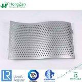 Comitato di soffitto di alluminio solido perforato della curva