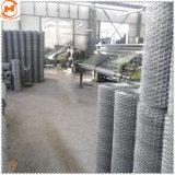 Rete metallica esagonale galvanizzata elettrica