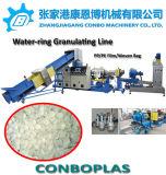 Scarti asciutti puliti dei fiocchi della bottiglia dell'animale domestico lavati plastica che granulano la riga di pelletizzazione