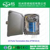 24 ports de haute qualité 48 Boîtier de terminaison de fibres