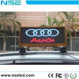 P3 al aire libre de ahorro de energía LED superior Taxi mostrar publicidad mostrar