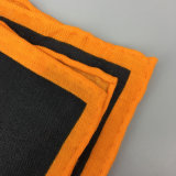 メンズ方法カスタムプリントウールのポケット正方形