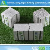Охраны окружающей среды/легкий/огнеупорные панели сэндвич EPS для раздела/внешние/внутренние стены в сегменте панельного домостроения домов и зданий и строительство