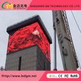 Реклама на улице цветной фиксированной установки P10мм светодиодный дисплей (4*3м, 6*4м, 10*6m светодиодная панель)