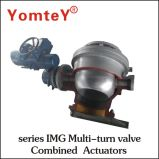 Azionatore Multi-Turn di combinazione di qualità della valvola dell'azionatore di serie eccellente del Img