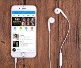 iPhone 5/6のためのリモートそしてMicとの携帯電話によってワイヤーで縛られるEarpods