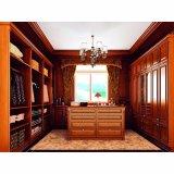 Begehbarer Schlafzimmerschrank Aus Solidem rotem Eiche aus Holz (YH-W3006)