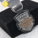 China-Hersteller-kundenspezifisches MetallNypd Drucken gedrucktes Schlüsselketten-Foto