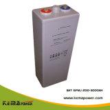 Gfmj 2VDC 200-3000ah longo ciclo de vida livre de manutenção da bateria Opzv