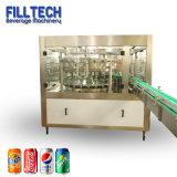 Macchina di rifornimento gassosa della bevanda per la latta di alluminio