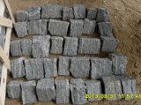Nouveau produit naturel noir lâche de placage de pierre Corner (SMC-FS021)