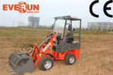 Bucket를 가진 Qingdao Everun 800kg Mini Front End Radlader