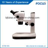 Câmera de microscópio de alta qualidade 0.66 ~ 5.1X para o microscópio Greenough