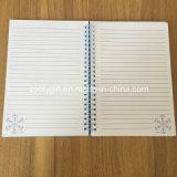 Funkeln-Entwurf stempelschnitt Schule-Übungs-Notizbücher des Karten-Deckel-A5
