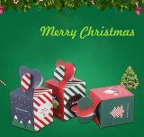 Cadre de empaquetage personnalisé d'Apple de Noël fin, boîte-cadeau de Noël, boîte à sucrerie, boîte-cadeau de papier