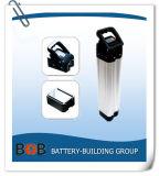 7s9p 24Vのリチウム電池のEbike電池の電気自転車電池のPacksliverの魚電池リチウムイオン電池電池LiFePO4電池のEbike電池