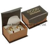 Personalizados de alta calidad cuero de diseño de la caja de papel joyería
