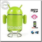 Android в стиле робота Cute мини-динамик с FM для PC/MP3/TF карты