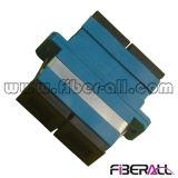 Plastic Blauw van de Adapter van de Vezel van Sc Sm het Duplex Optische