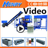 Qtj4-20 Automatic Concrete Vibration Block Making Machine Solid Brig Machine