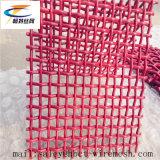 Maglia tessuta/unita di 65mn rosso del metallo