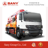 Caminhão da bomba concreta de Sany 38m da bomba concreta Diesel pequena
