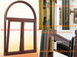 Fenêtre de bonne qualité à partir de sociétés de fabrication de fenêtres, fenêtre de battement en aluminium à bois de style australien et australien