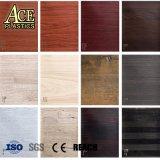 접착성 비닐 벽 또는 강철 위원회 또는 Windows 문턱 Doorframe/PVC 천장 덮음을%s 목제 곡물 짜임새 가구 PVC 필름