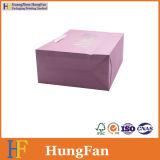 Weißer Packpapier-verpackenbeutel/Einkaufstasche/Geschenk-Beutel mit Farbband-Knoten