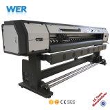Aprovado pela CE 2,5M 8 pés Oleados Impressora para Banner Flex
