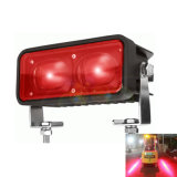10-80V 6 인치 18W 파랗거나 빨강 위험 지대 LED 포크리프트 안전 경고등